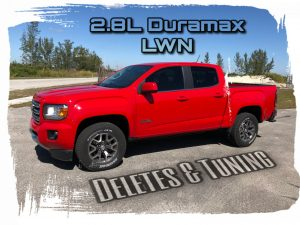 Deleting and tuning the 2.8L Duramax LWN | Remove DPF, DEF and EGR
